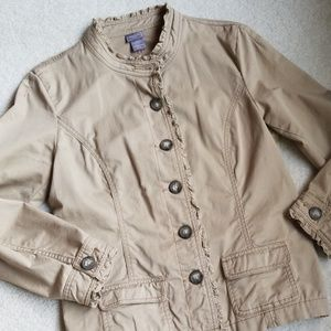 Darling khaki jacket. EUC!